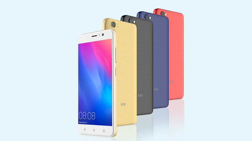 KXD W55—Low-End Smartphone with High-End Design