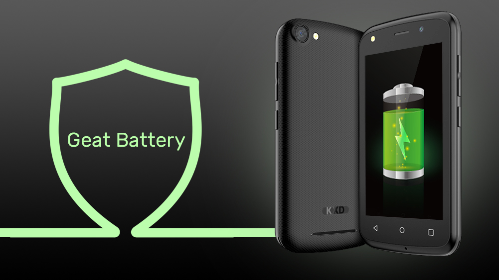 KXD W41 great battery life